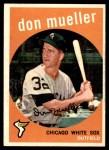 1959 Topps #368  Don Mueller  Front Thumbnail