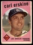 1959 Topps #217  Carl Erskine  Front Thumbnail
