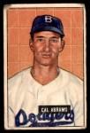 1951 Bowman #152  Cal Abrams  Front Thumbnail