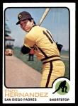 1973 Topps #438  Enzo Hernandez  Front Thumbnail