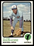 1973 Topps #401  Clyde Mashore  Front Thumbnail