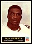 1965 Philadelphia #52  Don Perkins   Front Thumbnail