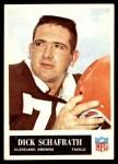1965 Philadelphia #40  Dick Schafrath  Front Thumbnail