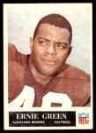 1965 Philadelphia #34  Ernie Green   Front Thumbnail