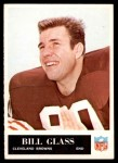 1965 Philadelphia #33  Bill Glass   Front Thumbnail