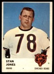 1961 Fleer #6  Stan Jones  Front Thumbnail