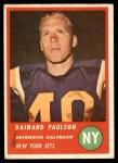1963 Fleer #18  Dainard Paulsen  Front Thumbnail
