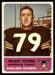 1962 Fleer #76  Volney Peters  Front Thumbnail