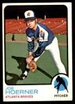 1973 Topps #653  Joe Hoerner  Front Thumbnail