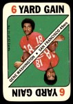 1971 Topps Game #21  Gene Washington  Front Thumbnail