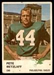 1961 Fleer #53  Pete Retzlaff  Front Thumbnail