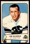 1954 Bowman #56  Leon McLaughlin  Front Thumbnail