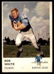 1961 Fleer #168  Bob White  Front Thumbnail