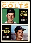 1964 Topps #226   -  Jerry Grote / Larry Yellen Colt 45s Rookies Front Thumbnail