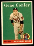 1958 Topps #431  Gene Conley  Front Thumbnail