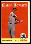 1958 Topps #275  Elston Howard  Front Thumbnail