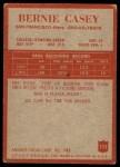 1965 Philadelphia #172  Bernie Casey   Back Thumbnail