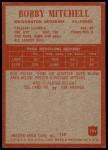 1965 Philadelphia #191  Bobby Mitchell  Back Thumbnail