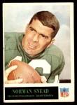 1965 Philadelphia #139  Norm Snead  Front Thumbnail