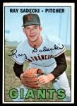 1967 Topps #409  Ray Sadecki  Front Thumbnail