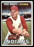 1967 Topps #174  Dick Radatz  Front Thumbnail