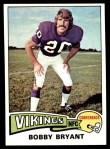 1975 Topps #316  Bobby Bryant  Front Thumbnail