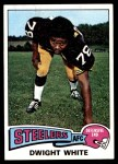 1975 Topps #235  Dwight White  Front Thumbnail