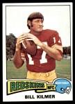1975 Topps #480  Billy Kilmer  Front Thumbnail