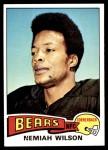 1975 Topps #252  Nemiah Wilson  Front Thumbnail