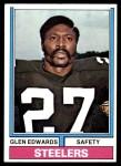 1974 Topps #169  Glen Edwards  Front Thumbnail