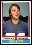 1974 Topps #74  Pat Hughes  Front Thumbnail