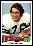 1975 Topps #375  John Niland  Front Thumbnail