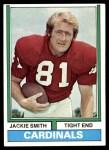 1974 Topps #485  Jackie Smith  Front Thumbnail