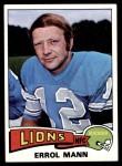 1975 Topps #421  Errol Mann  Front Thumbnail
