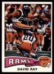 1975 Topps #34  David Ray  Front Thumbnail