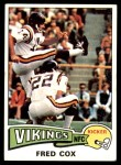 1975 Topps #53  Fred Cox  Front Thumbnail