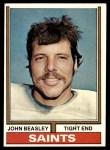 1974 Topps #16  John Beasley  Front Thumbnail