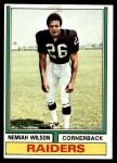1974 Topps #326  Nemiah Wilson  Front Thumbnail