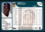 2001 Topps Traded #44 T Roberto Kelly  Back Thumbnail