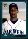 2001 Topps Traded #196 T Rafael Soriano  Front Thumbnail