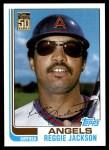 2001 Topps Traded #104 T  -  Reggie Jackson 82  Front Thumbnail