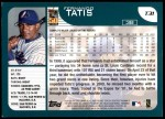 2001 Topps Traded #31 T Fernando Tatis  Back Thumbnail