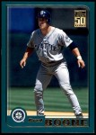 2001 Topps Traded #5 T Bret Boone  Front Thumbnail