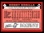 2001 Topps Traded #115 T  -  Bobby Bonilla 86  Back Thumbnail