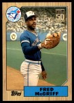 2001 Topps Traded #128 T  -  Fred McGriff 87  Front Thumbnail