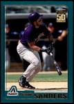 2001 Topps Traded #28 T Reggie Sanders  Front Thumbnail