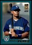 2001 Topps Traded #239 T Antonio Perez  Front Thumbnail