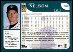 2001 Topps Traded #39 T Jeff Nelson  Back Thumbnail