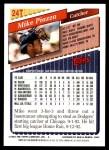 2001 Topps Traded #138 T  -  Mike Piazza 93  Back Thumbnail