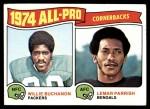 1975 Topps #221   -  Willie Buchanon / Lemar Parrish All-Pro Cornerbacks Front Thumbnail